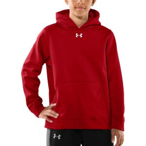 Under Armour Men's Team Armour Fleece Hooded Sweatshirt