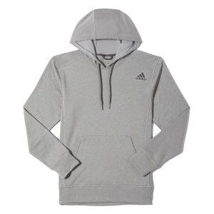 adidas Performance Men's Ultimate Linear Logo Fleece Pullover Hoodie