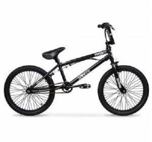 20 Hyper Spinner Pro Boys' BMX Bike, Black