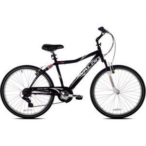 26 Next Avalon Men's Comfort Bike with Full Suspension, Black