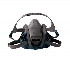 3M 6503QL Rugged Comfort Quick Latch Half Facepiece Reusable Respirator, Large