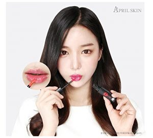 April Skin Magic Oil Tint Scarlet (6ml) High Moisturizing Lip Gloss Tint (Scarlet & Orange)