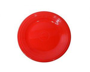 Fiesta 7-14-Inch Salad Plate, Scarlet