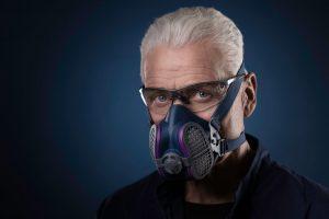 GVS Elipse SPR457 P100 Elipse Half Mask Respirator, MediumLarge, Blue