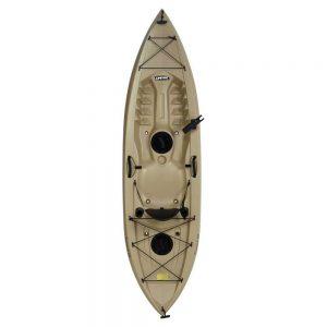Lifetime Tamarack Sit-On-Top Kayak, Tan, 120