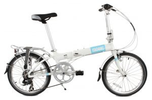 MOBIC City X7 Folding Bike - Strong Lightweight Aluminum Frame