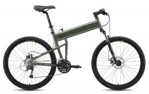 Montague Paratrooper Mountain Folding Bike 2015, Matte Cammy Green