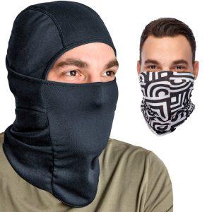Multipurpose Premium Balaclava Bundle Face Mask + Versatile Headband