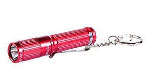 Olight® Mini EDC Keychain AAA Flashlight 180 Lumens i3S Brass EOS Cree XP-L LED Beautiful Tiny Flashlight