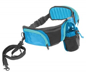 Outward Hound Hands Free Hipster Dog Leash Storage Accessory 5ft Leash Included