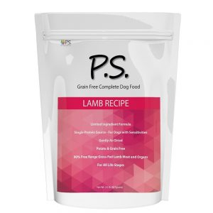 PS For Dogs 100% Hypoallergenic Dog Food - No More Paw Licking & Skin Scratching