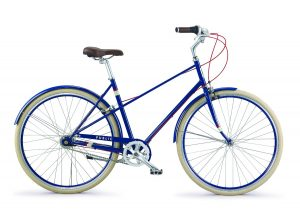 PUBLIC Bikes M7i Mixte Style Step-Over 7-Speed City Bike