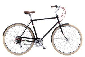 PUBLIC Bikes V7 Comfort City Bike, 18Small, Black