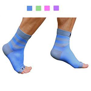 Plantar Fasciitis Sock, Compression Socks for Men Women Nurses Runners Ankle Sleeve