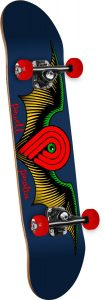 Powell-Peralta Winged P Skateboard Deck, Navy