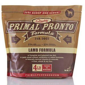 Primal Pronto Lamb Frozen Raw Dog Food
