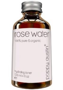 Pure Rose Water Facial Toner by Poppy Austin® - Organic, Hand Made & Responsibly Sourced Skin Toner - Finest, Triple Purified Rosewater