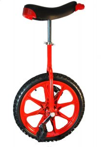 Red Magwheel Unicycle for Kids