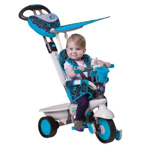 Smart Trike Dream 159-0900 Tricycle with Touch Steering Blue Black