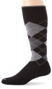 Sockwell Men's Argyle Moderate (15-20mmHg) Graduated Compression Socks