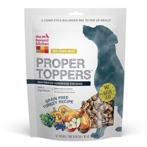 The Honest Kitchen Proper Toppers Grain-Free Turkey Superfood Dog Food