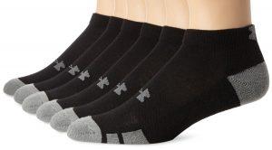 Under Armour Men's Six Pairs of Resistor Low-Cut Socks