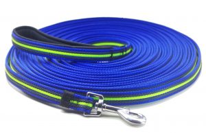 YOGADOG - Durable 15 Ft to 50 Ft Dog Tracking Training Lead Leash - Long Lead with Padded Handle - Special Non-slip Design - For any Szie of Dogs