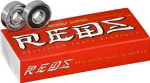 Bones Bearings REDS Super (8mm, 16 Packs 2 Sets)