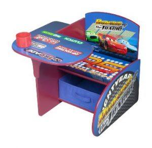 Delta Children Chair Desk With Storage Bin, DisneyPixar Cars