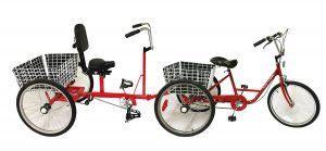 Foot Powered Adult Cycle With Centipede
