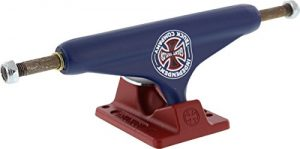 Independent Truck Co. Grant Taylor BTG Hollow 139mm Blue Red Skateboard Trucks - 8 Axle (Set of 2)