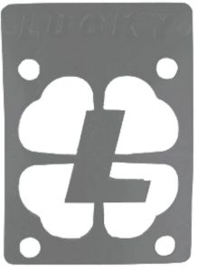 Lucky Silver 18 Risers Single Skateboarding Risers Pads
