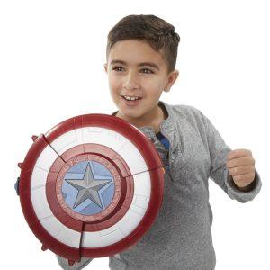 Marvel Captain America Civil War Blaster Reveal Shield