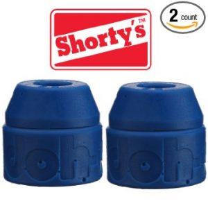 Shorty's Blue Doh-Doh Bushings 88a soft (2 sets) For Skateboards & Longboards