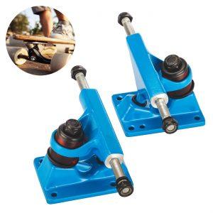 Tera UGIN 2Pcs of 3.25 Skateboard Trucks Anchor Shape Aluminum-magnesium Alloy for 22 Mini Skateboard Penny Board