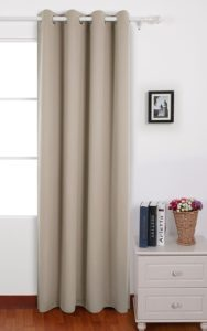 Desnovo Solid thermal insulation curtains with an outer silver base