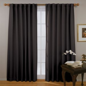 Eclipse Fresno 52 on the 84-inch curtain of the window curtain