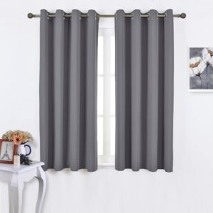 NICETOWN 2 Panel Set Blackout Curtains for room/parlor