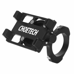 Bike Phone Mount, CHOETECH Aluminum Universal Bicycle Phone Holder Handlebar Mount