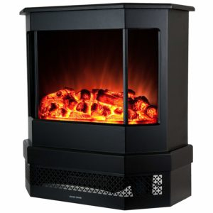 "Golden Vantage 23 ""European style Freestand modern portable fireplace heater Stove EF330"