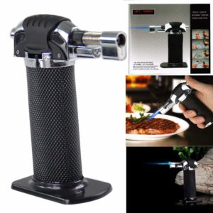 Lospu HY Refillable Micro Butane Gas Torch Lighter for Creme Brulee