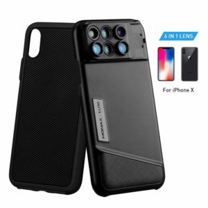 MOMAX Lens Case for Apple iPhone X