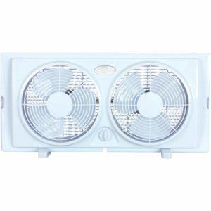 White Optimus F-5280 Window Fan