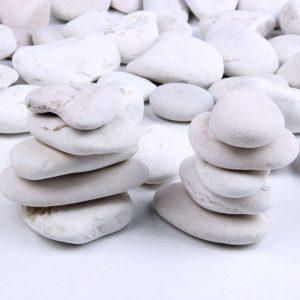 Skullis 5 Pounds Rocks for Garden Outdoor Decorative Stones Garden Pathway Walkway Fish Tank Aquarium Ornaments