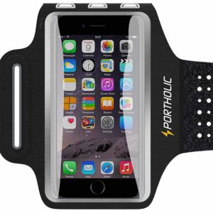 Sweat Resistant Armband Fits iPhone XS Max XR X 8 7 6/6s Plus PORTHOLIC Phone Running Sports Workout Case