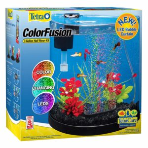 Tetra ColorFusion LED Half Moon Aquarium Kit