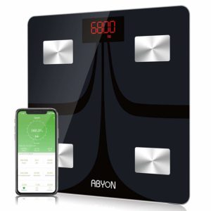 Upgraded Version Bluetooth Smart Digital Scales for Body Weight Scale Bathroom Scale Body Fat WiFi Scale