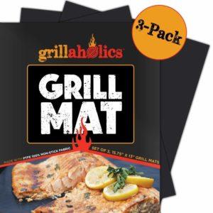 Grillaholics BBQ Grill Mats