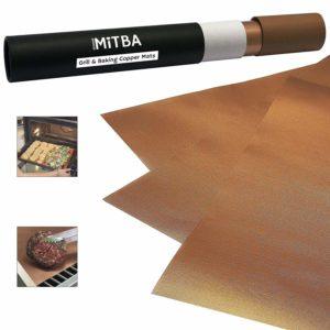 MiTBA BBQ Grill Mats