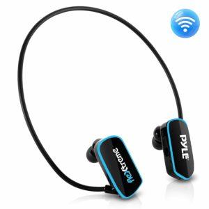 Pyle PSWP6BK Waterproof headphones for swimming